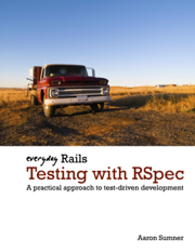 Everyday Rails Testing with RSpec Book Cover