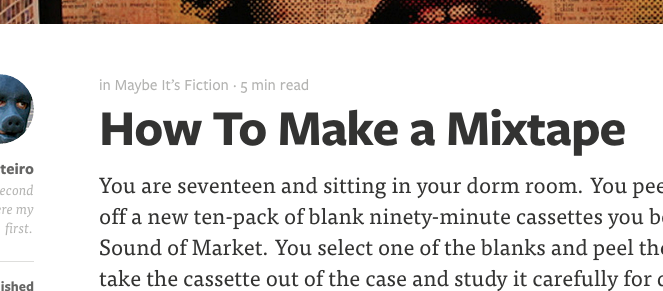 Medium's Time to Read
