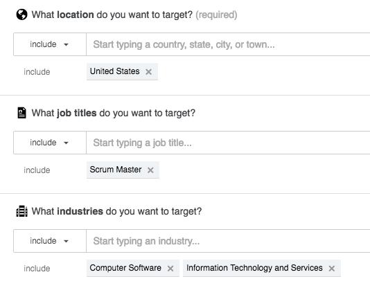 Targeting is easy!