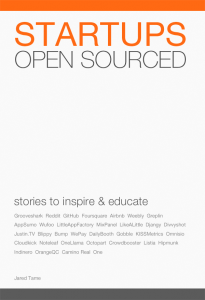 Startups Open Sourced Book Cover